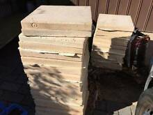 30 Boral Abode Linen coloured pavers 450x450x40 Hope Valley Tea Tree Gully Area Preview