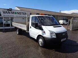 Ford Transit T350 MWB DROPSIDE TDCI 125PS DIESEL MANUAL WHITE (2012)