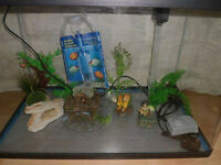Fish R Fun FRF 660 Black Tropical Aquarium Fish Tank 95L