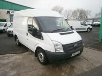 Ford Transit T280 swb Medium Roof 125ps DIESEL MANUAL WHITE (2014)