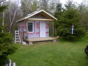 12 x 16 Guest house or Hunting/Fishing cabin