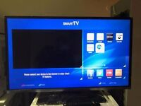 "JVC LT-40C755 Smart 40"" LED TV with Built-in DVD Player NEW"