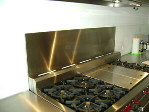 Residential Stainless Steel Backsplash London Ontario image 2