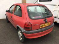 Vauxhall Corsa B 1.4 Red Sunroof
