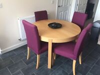 Extendable kitchen/dining table