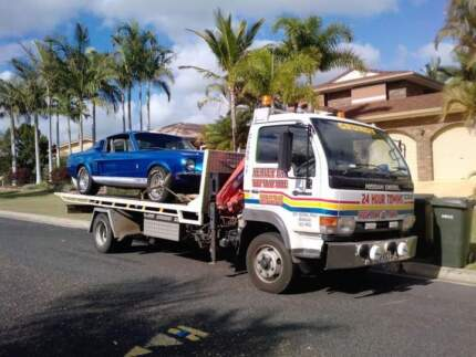 Hervey Bay tilt tray hire 24Hr Towing Service FULLY INSURED Torquay Fraser Coast Preview