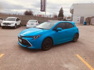 Lease Takeover 2019 Corolla Hatchback XSE WINTER TIRES BEST PRIC