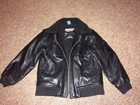 Leather jacket for boys -age 7