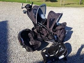 Graco Duo Tandem Sports Luxe travel system