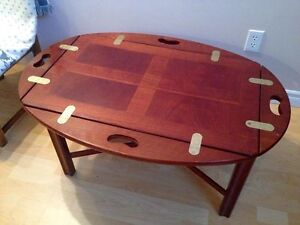 FOR SALE - Bombay Butler Tray Coffee Table
