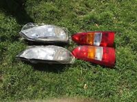 Vauxhall Astra g headlights and back lights