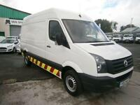 Volkswagen Crafter CR35 2.0tdi mwb High Roof 143ps DIESEL MANUAL WHITE (2013)