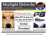Drive-In Theatre is open for the 2017 season!