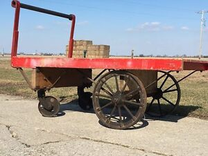 Authentic Railroad Freight Carts For Sale