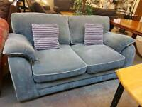 Teal / grey sofa . Excellent condition