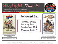Retro Weeks at the Skylight Drive-In!