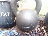 Eleiko 20kg Cast Iron Kettlebell open to offers