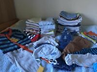 Boys 0-3m clothes over 50 items