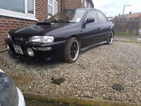 Impreza wrx import Tommy kaira kitted in midnight purple reg as 2.0 on v5 cheaper to insure