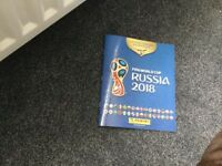 World Cup 2018 official sticker book plus 600 stickers and 30 packets unopened packets