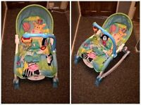 FISHERPRICE VIBRATING BABY ROCKER