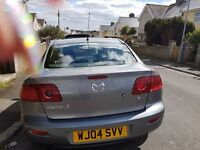 MAZDA 3 1.6 TS 4-DOOR SALOON - only selling as I now have a mobility car as disabled