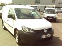 Volkswagen Caddy C20 TDI 102PS STARTLINE VAN DIESEL MANUAL WHITE (2014)