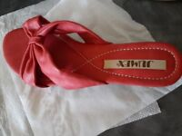 New Red Sandals , size 38 EU