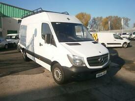 Mercedes-Benz Sprinter 313cdi mwb High Roof 130ps New Shape DIESEL MANUAL (2014)
