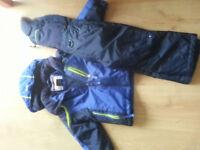 boys rain / puddle suit