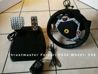 Thrustmaster Ferrari F430 Wheel for computer/PC