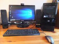 PC HP Pro 3120MT + 22 inch monitor +