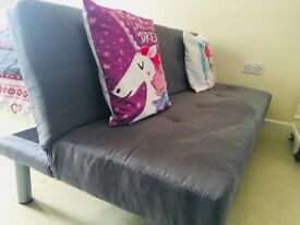 3 Seater Sofa Bed - Grey