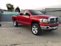 Dodge RAM 5.7 Laramie Quad Crewcab Pickup 4dr