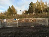Industrial storage yard to let