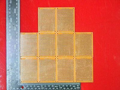 10pcs 5 Cm7cm Prototyping Pcb Printed Circuit Board Prototype Breadboard Bz504