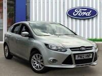 2012 Ford Focus 1.6 Ti Vct Titanium Hatchback 5dr Petrol Manual 136 G/km 123 Bhp