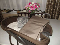 Stokke Xplory carry cot in brown
