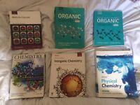 Chemistry Textbooks for University Degree