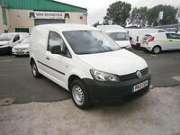 Volkswagen Caddy 1.6TDI 75ps Van Air Con DIESEL MANUAL WHITE (2013)