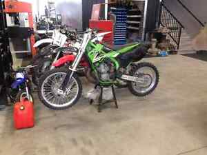 Reduced ! 2002 kawasaki kx 250