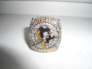 Pittsburgh Penguins Replica 2016 Stanley Cup Championship Ring