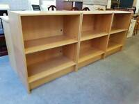 Modern office shelving units (two tier) £30 each