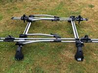 TOYOTA YARIS GENUINE TOYOTA ROOF RACK BIKE CARRIER