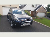 Toyota RAV4 2.2 D-4D T180 5dr with leather seats