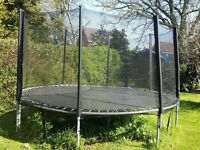 Large Kids Trampoline and Safety Net