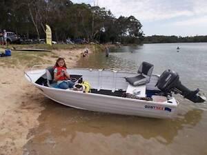 Quintrex 375 Dart, 15hp Yamaha, Trailer Coffs Harbour Coffs Harbour City Preview