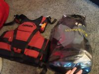 Kayak and watersports gear