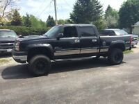 2003 Chevrolet C/K 2500 diesel 4x4 6 in lift kit