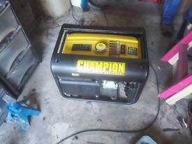 2500 Watts 'Champion' Petrol Generator.
